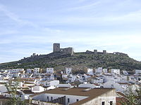 The castle at Teba [photo: Wikipedia]