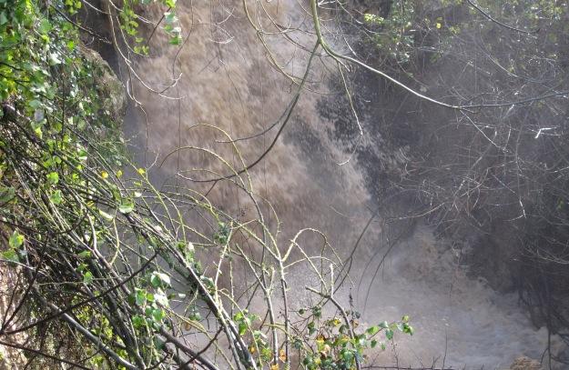 waterfall in feb