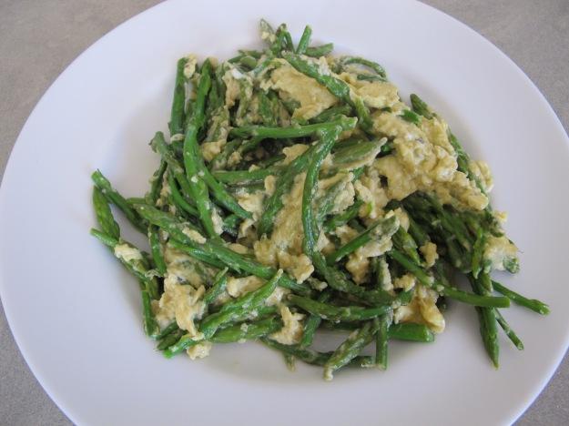 wild asparagus - revueltos 18-4-13