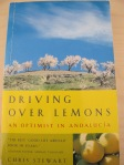 driving over lemons - chris stewart 30-4-13
