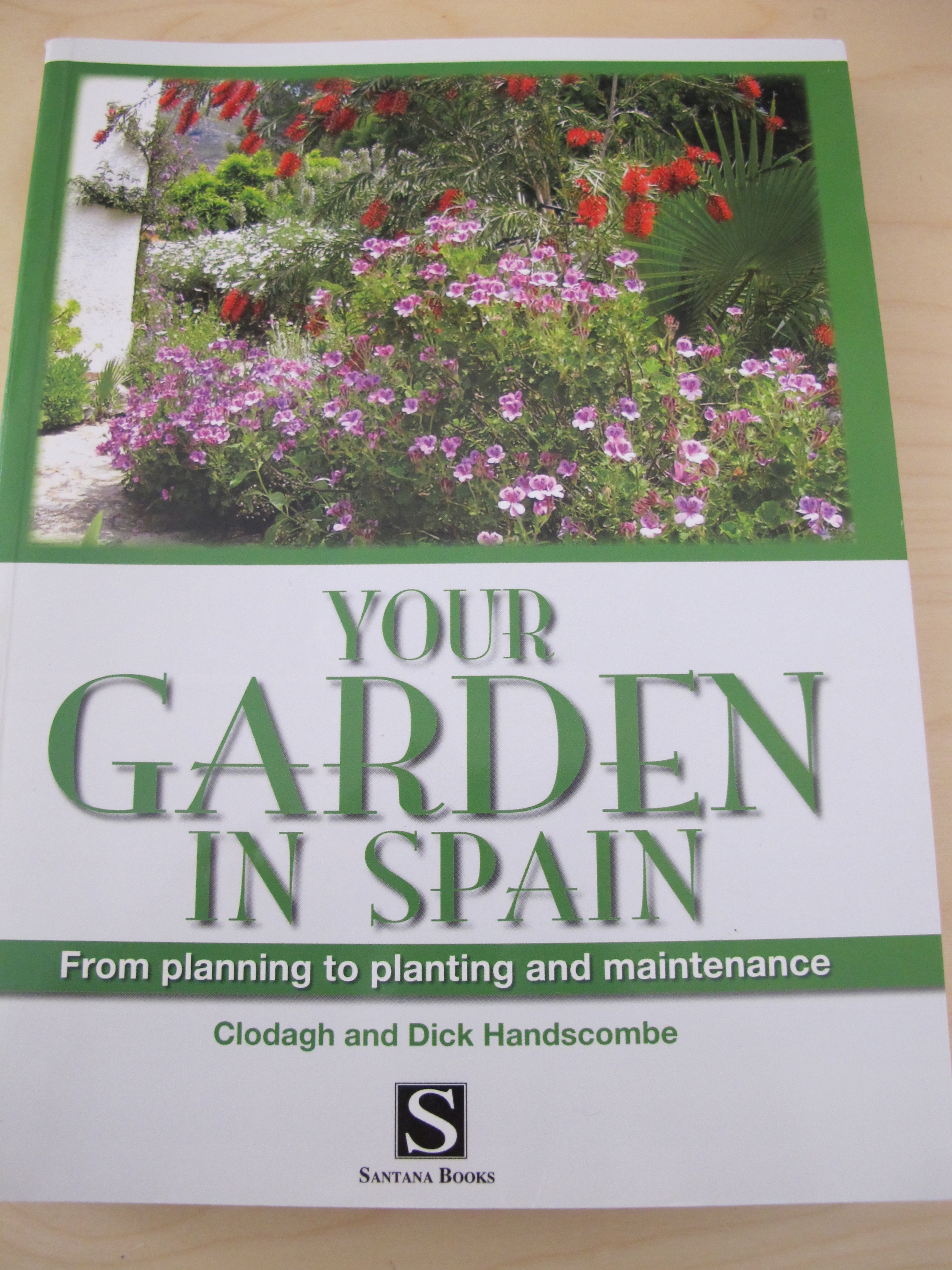 Book Review Your Garden In Spain By Clodagh Dick