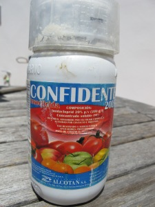 bottle of Confidente 12-7-13