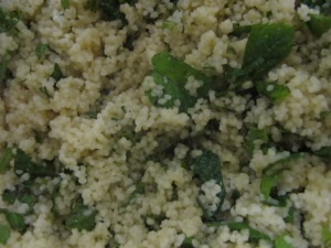 close-up of lemon cous cous 24-8-13