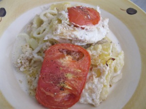 fennel gratin - plateful 18-8-13