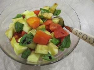 freshly-picked salad - bowl 6-8-13