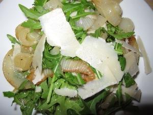 roasted onion and rocket salad - plateful 16-7-13