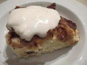 annie's apple cake - bowlful 10-9-13