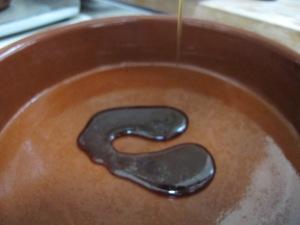 caramelising the dish 15-9-13
