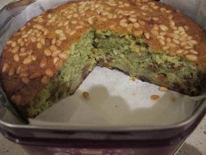 cut, in the cake tin 22-9-13