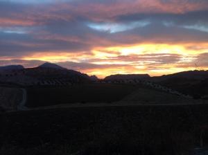 El Chorro sunrise2 22-10-13