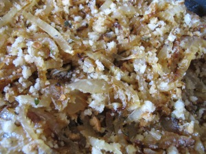 onion and breadcrumb mixture 7-10-13