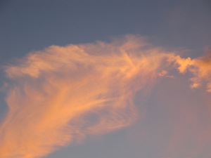 cloud at sunset3 7-10-13