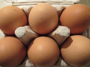 six large eggs 3-12-13