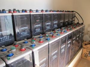 the baterias 1-5-13