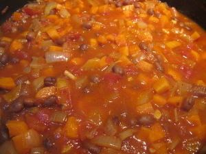 tomato sauce, cooked down 3-12-13