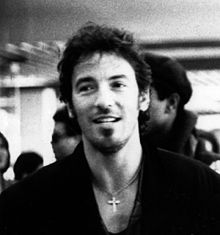 Bruce Springsteen in 1988 - photo Wikipedia 6-1-14