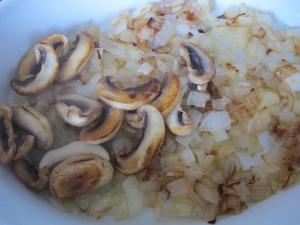 fried onions & mushrooms in baking dish 12-1-14