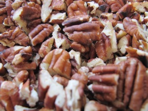 pecans - chopped 6-3-14