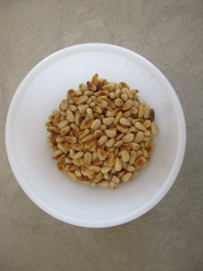 pine nuts - toasted 7-3-14