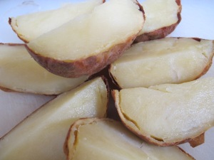potatoes - cooled & quartered 22-3-14