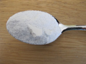 a teaspoon of baking powder 21-5-14