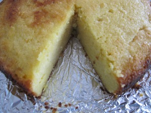 cake - cut into 21-5-14