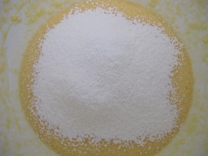 cake mix - add flour 1-6-14