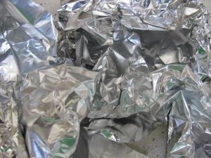 foil, crumpled 22-6-14