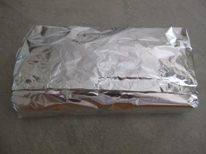 freezing - in foil 2-6-14