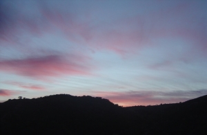 4 sunset1 - photo David 9-4-09