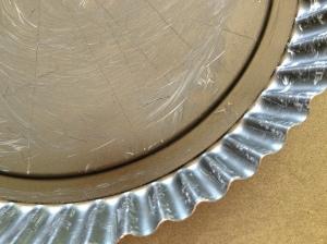 flan tin - close-up 28-7-14