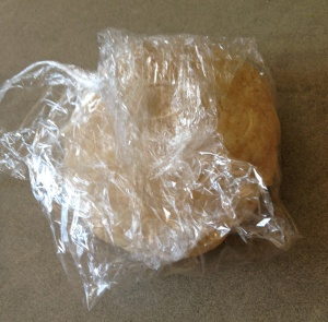 pastry in cling film 28-7-14