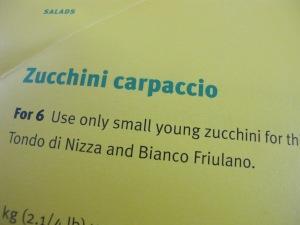 recipe page - zucchini carpaccio 7-6-13