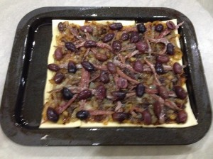 tart - ready to go into oven 23-7-14