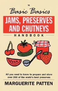 The Basic Basics Jams, Preserves and Chutneys handbook by Marguerite Patten 20-7-14