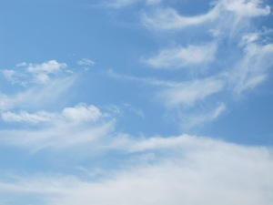 #18 sky with clouds 17-8-13