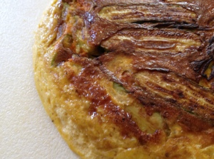 frittata – close-up   3-8-14