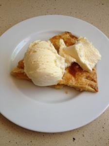 plateful + ice cream 3-8-14