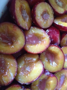 plums with sauce added 10-8-14