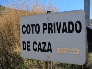 coto privado de caza - sign1 10-10-14