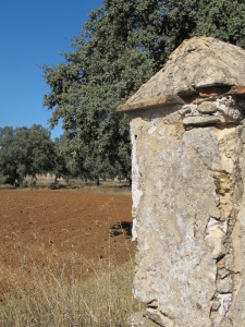 old stone gate post 10-10-14
