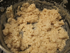 rice pudding - in the pan cooked 11-3-14