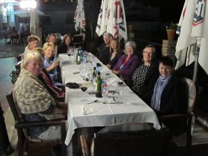 Competa Book group - after dinner 1-4-15