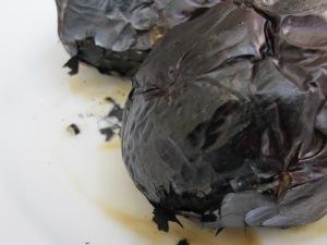 aubergine, charred 28-4-15