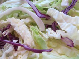 cabbage, chopped 4-6-15