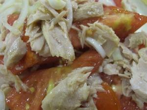 spanish tomato & tuna salad - close-up 19-8-13