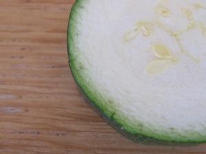 courgette, slice