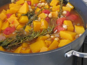 stewing, added stock