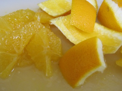 orange, segments