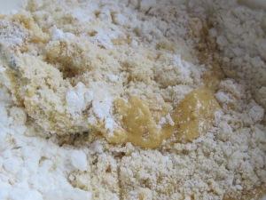adding-eggs-to-dry-mixture